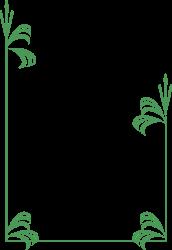 BORDERS,PLANTS,BDRPC115 clipart