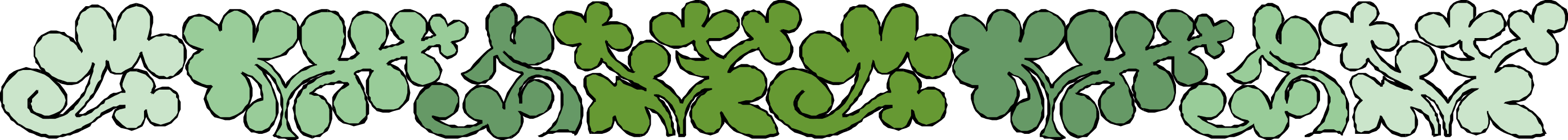 BORDERS,PLANTS,BRTP0060 clipart