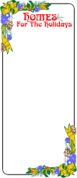 BORDERS,HOLIDAY,HOLIHOME clipart
