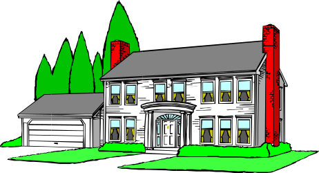 BUILDING,RESIDNL,HOUSE006 clipart