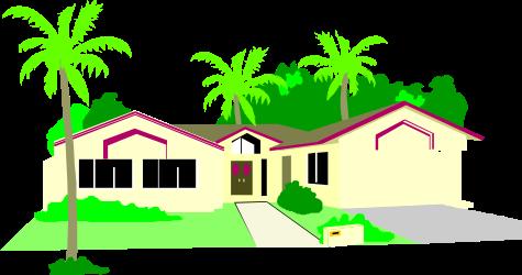 BUILDING,RESIDNL,HOUSE054 clipart