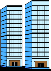 BUILDING,COMMERCL,SKYSCRP clipart