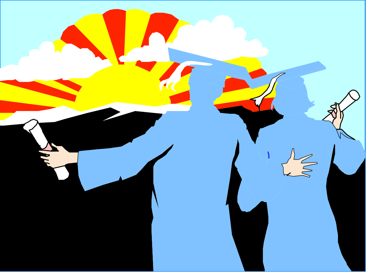 Vector Illustration People Silhouette Cartoon Men Human Hand Backgrounds Design Business Businessman Computer Graphic Ideas Concepts Holding Occupation Celebration Teamwork