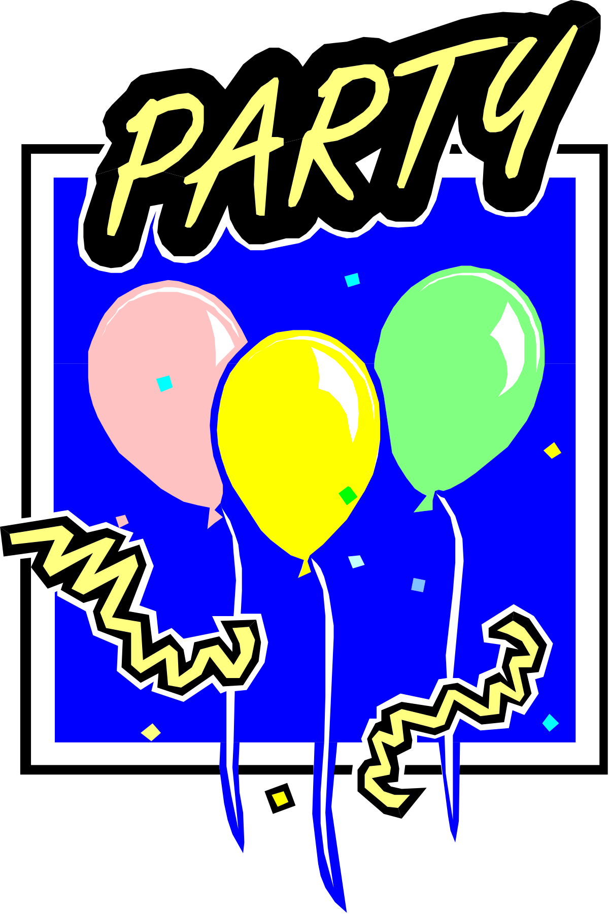 Illustration Balloon Speech Bubble Vector Celebration Multi Colored Symbol Fun Cheerful Design Blue Party - Social Event Happiness Business