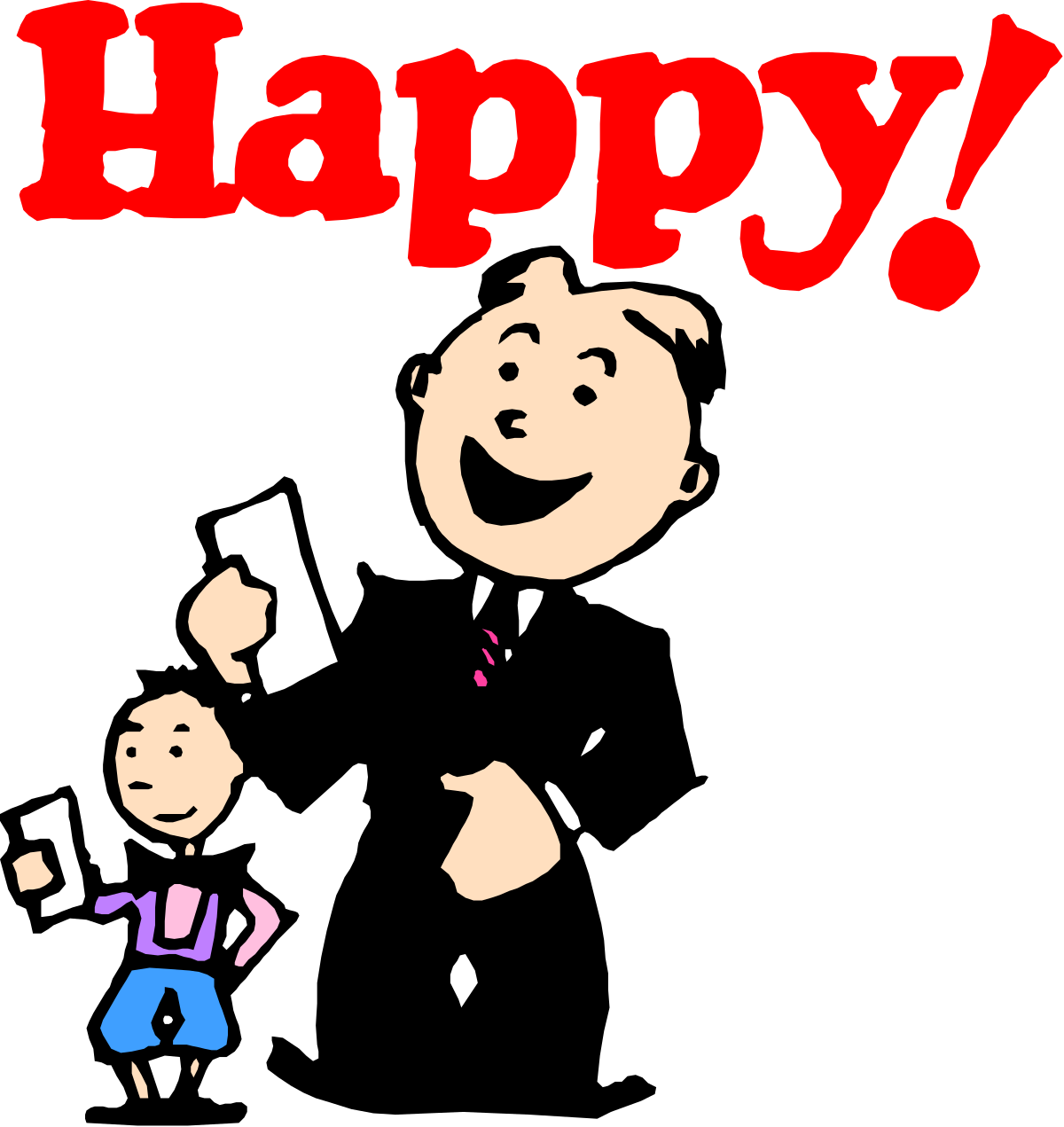 Illustration People Smiling Men Cheerful Vector Businessman Happiness Cartoon Business Line Art Suit Child Occupation Joy Business Person Boys Adult One Person Holding Males Tie Cute